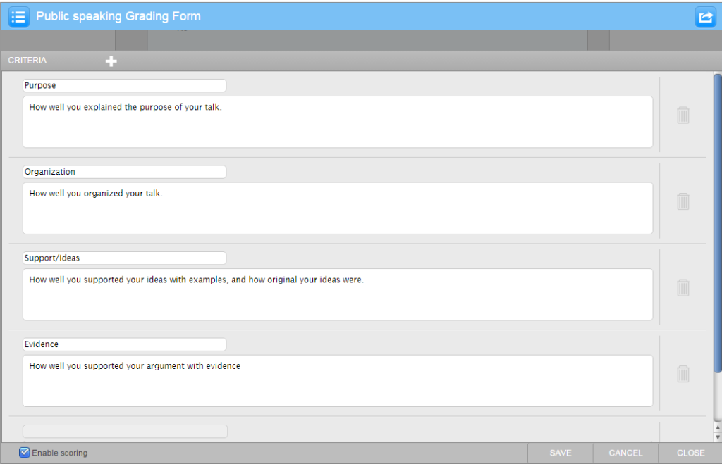 example-turnitin-grading-form