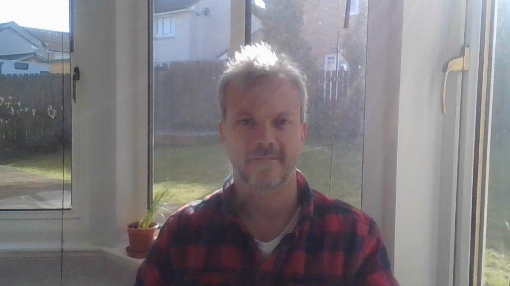back-lit image